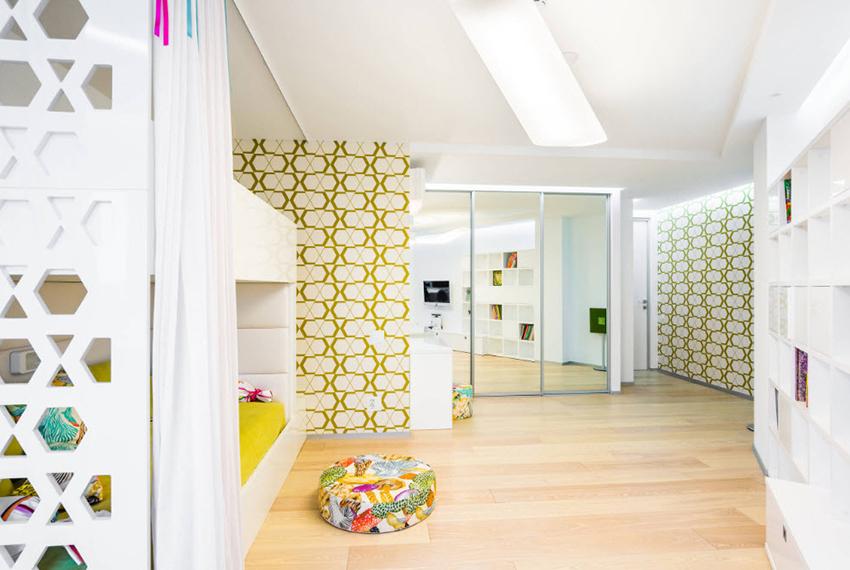 Обои для детской спальни должны быть сделаны из экологически чистых материалов