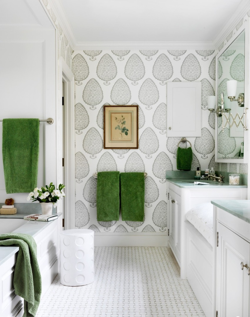 Обои ванных комнат архитектура ванной комнаты
