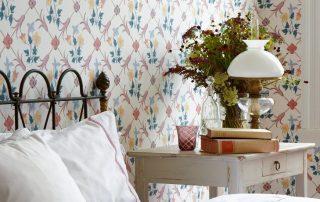Обои в стиле прованс для создания элегантного и роскошного дизайна