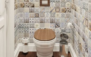 Плитка для туалета: советы по выбору и укладке своими руками