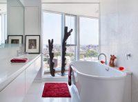 Мозаика в ванной комнате выглядит намного привлекательнее чем традиционная кафельная плитка