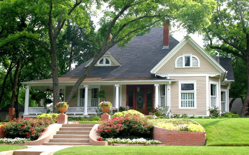 По статистике, наибольшей популярностью среди российских домовладельцев пользуются проекты домов в американском стиле