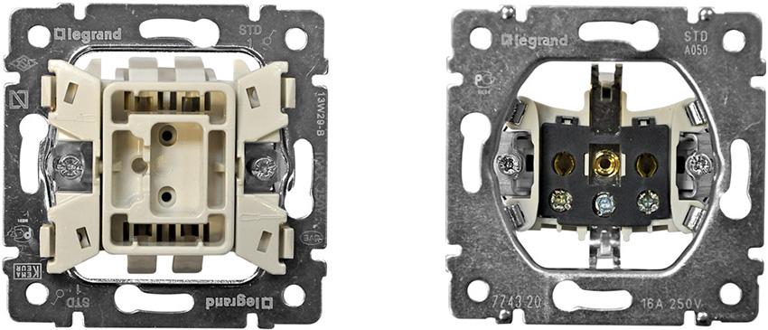 Проходной выключатель: схема подключения устройства из разных мест