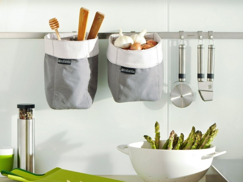 Среди прочих аксессуаров штангу можно дополнить оригинальными мешочками для хранения