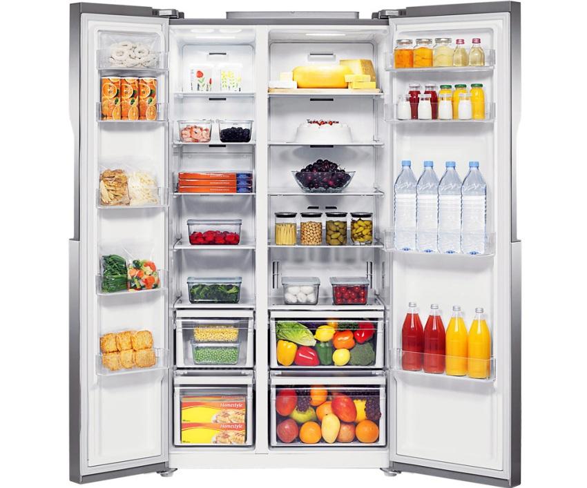 Мощность заморозки холодильника SAMSUNG RS-552 NRUASL составляет 12 кг продуктов за 24 часа