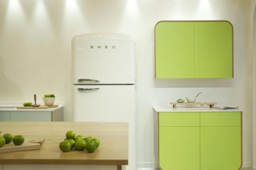 Холодильники марки Smeg отличаются современным дизайном