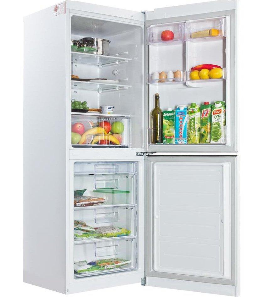 Холодильник LG GA-B379 SVCA оснащен системой размораживания No Frost