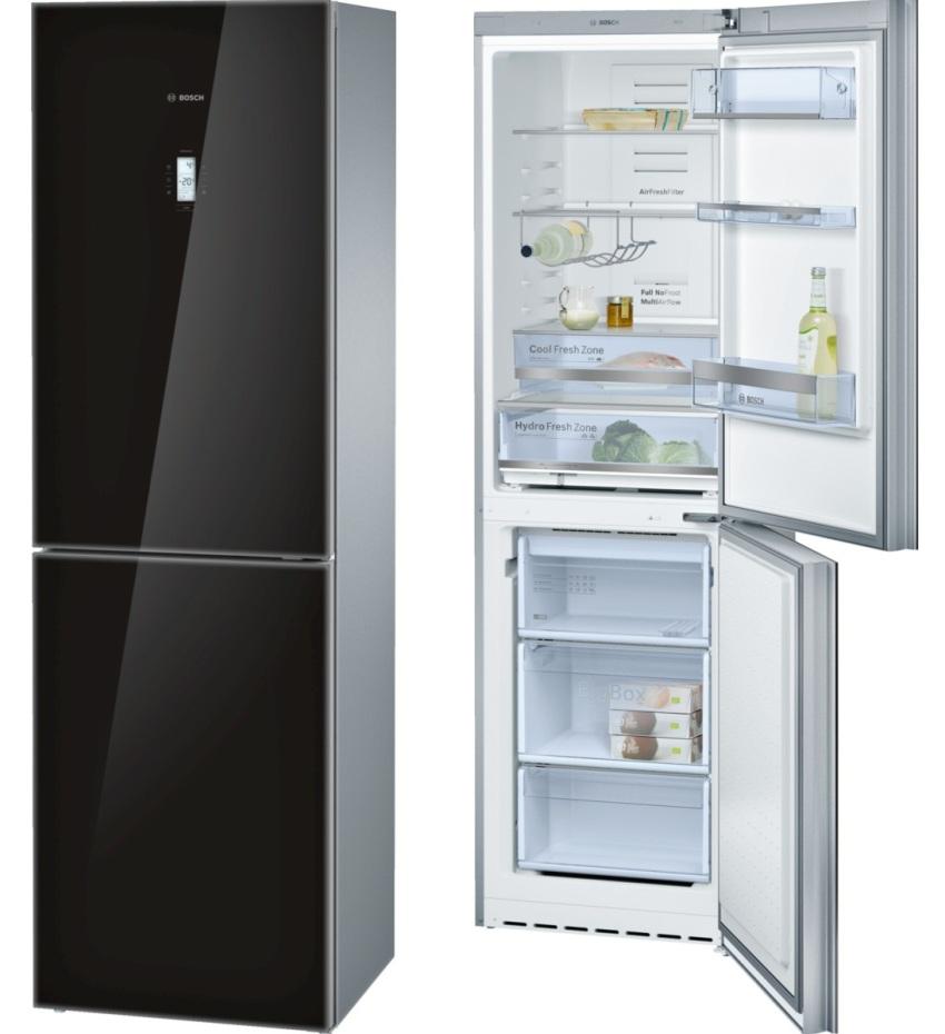Холодильник BOSCH KGN39SB10 отличается высокой функциональностью и надежностью