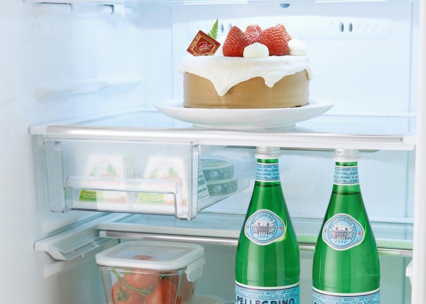 Встраиваимый холодильник LG GR-N309 LLB оснащен системой разморозки No Frost