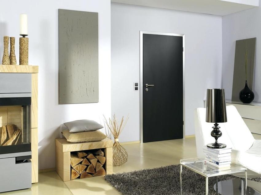 Цвет и дизайн ручек может перекликаться с другими декоративными элементами в интерьере