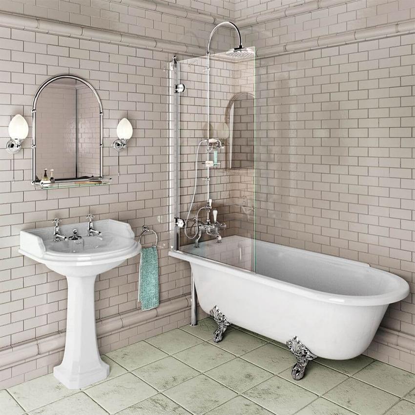 Благодаря разнообразному дизайну шторок, интерьеру ванной комнаты легко придать неповторимый стиль