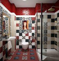 Подвесная сантехника и отсутствие ванной сделает совмещенный санузел намного просторнее