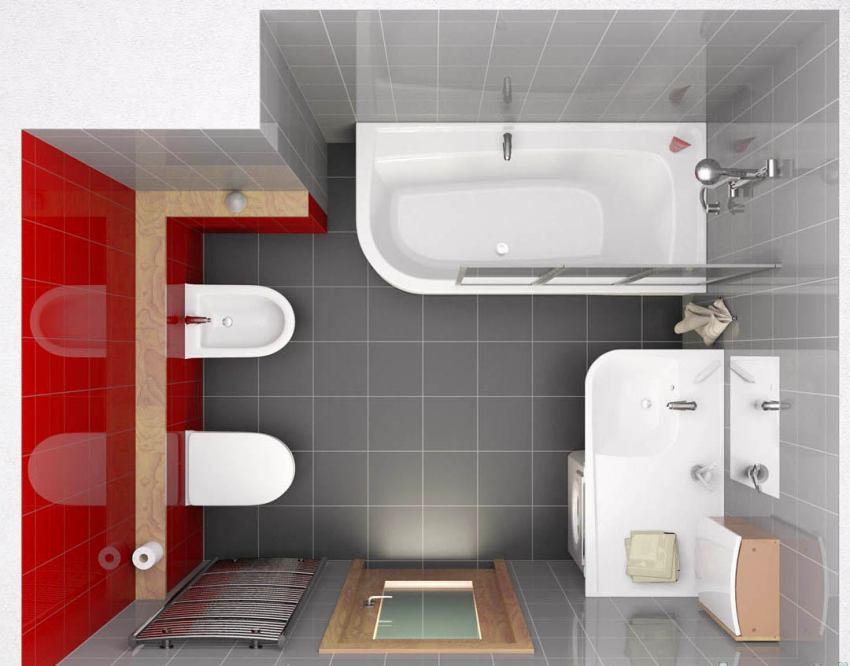 Совмещенный санузел: дизайн интерьера, планировка и оформление