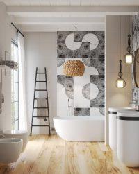 Даже небольшая ванная комната покажется комфортабельной, если продумать ее с точки зрения эргономики