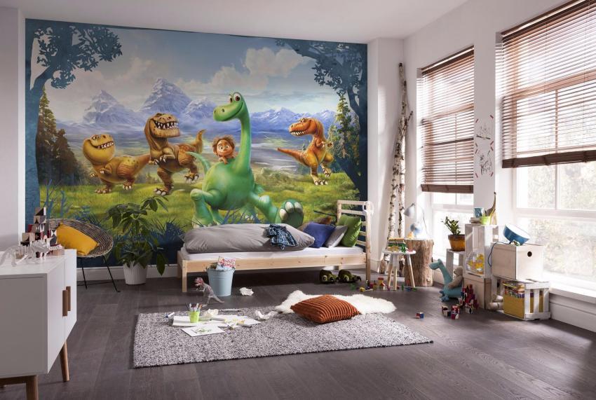 Обои 3Д очень износостойкие, их можно вытирать и даже мыть мыльным раствором, по этому они станут идеальным вариантом для детской комнаты