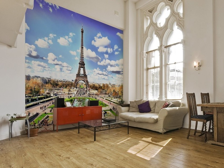 Одиночные 3Д обои представляют собой изображение, помещаемое на стену комнаты и придающее пространству глубину и реалистичность