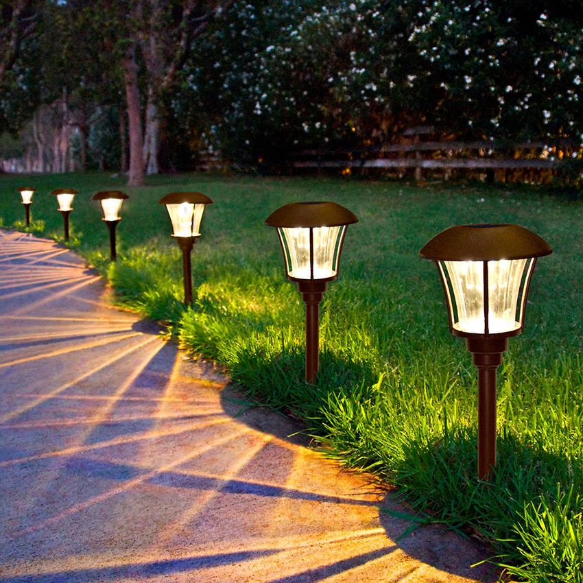 При выборе светильников с фотоэлементами важно учесть область их применения