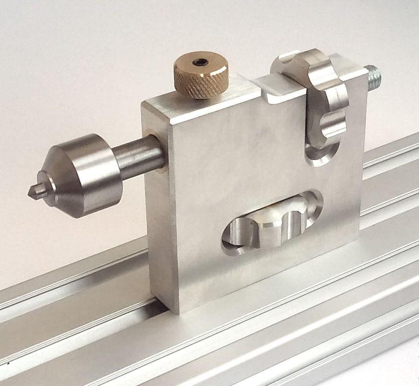 Бабка предназначена для точного поддержания и перемещения обрабатываемой на станке детали относительно режущего инструмента или поверхности