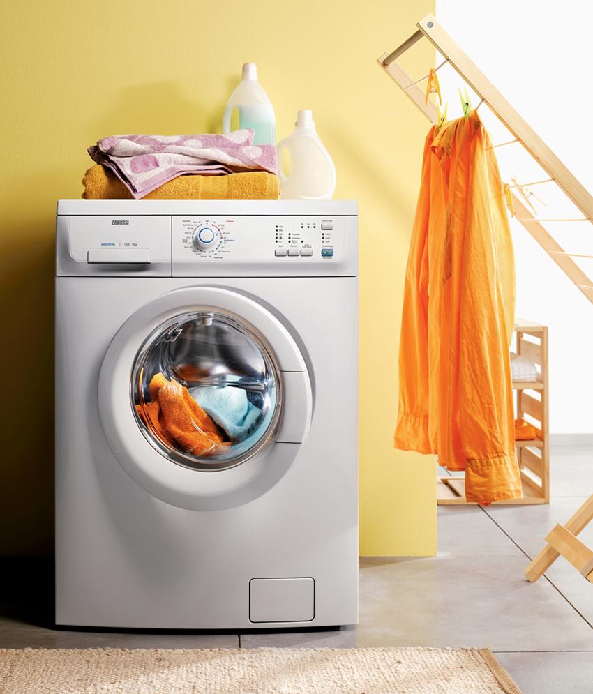 При выборе узкой стиральной машины нужно учитывать объем барабана