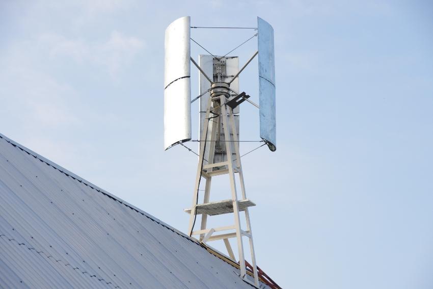 Ветрогенераторы используются в качестве альтернативных источников электрической энергии
