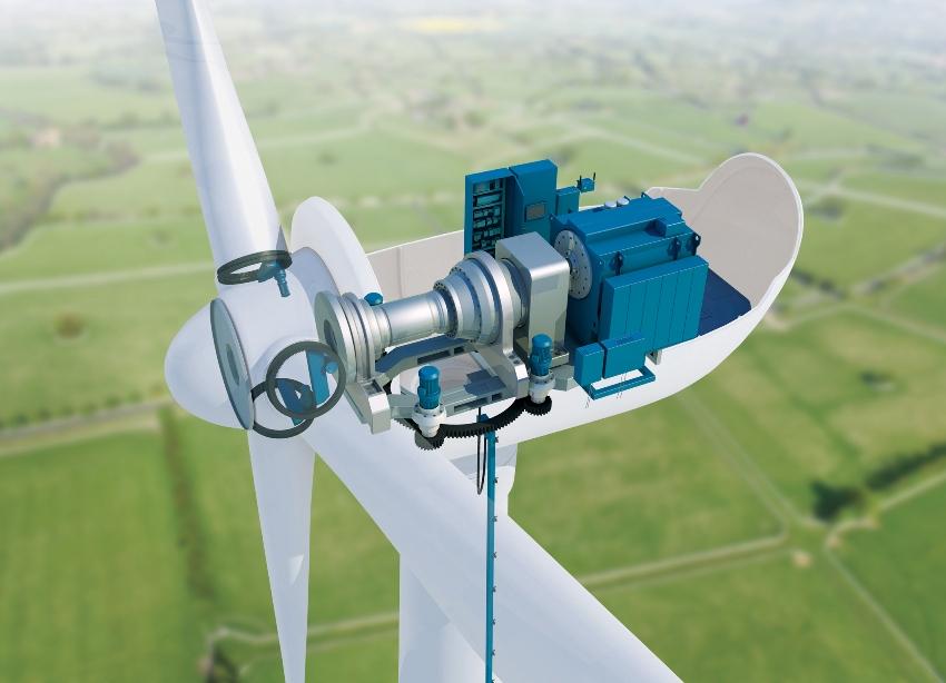 Внутреннее устройство ветрогенератора