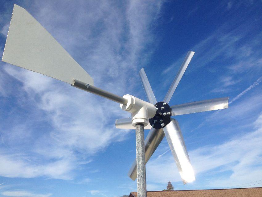 Для изготовления ветрогенератора своими руками можно использовать автомобильный генератор