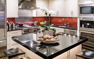 Встраиваемая кухня: фото оригинальных дизайнерских решений