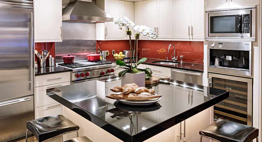 Built-in kitchen: photos of original design solutions