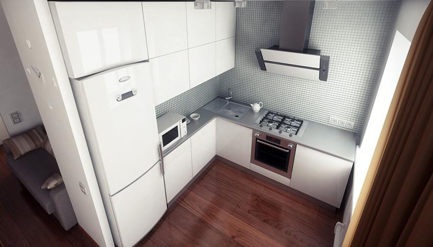 Холодильник является одним из важных элементов на кухне