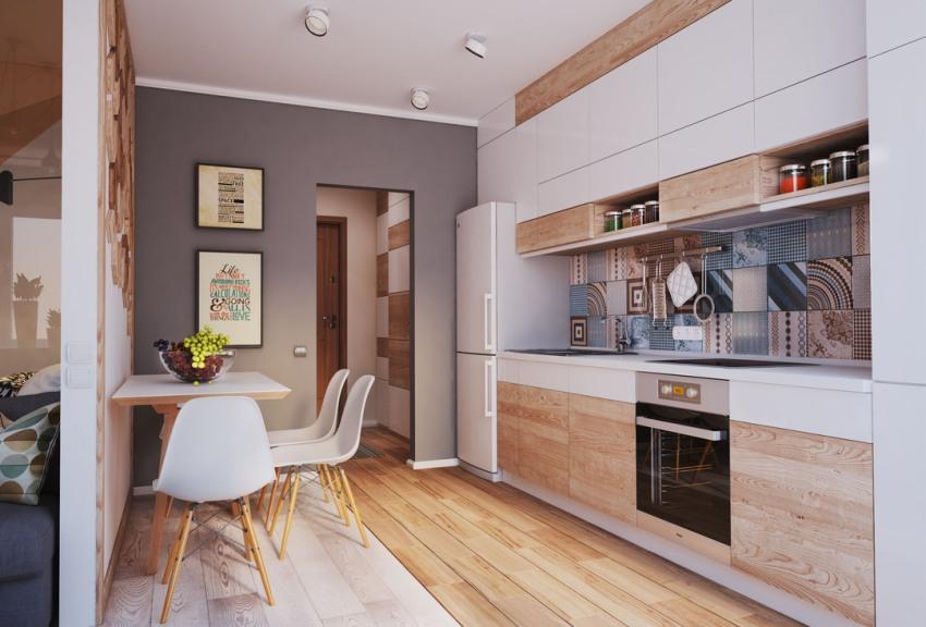 Оформив все помещение двухкомнатной квартиры в одном стилевом направлении, можно визуально избежать проблем с недостатком пространства