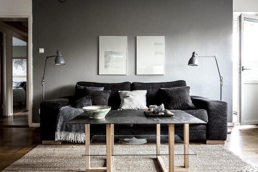 Необходимо грамотно и продуманно подойти к расстановке мебели, это поможет ликвидировать многие недостатки планировки и превратить их в преимущества