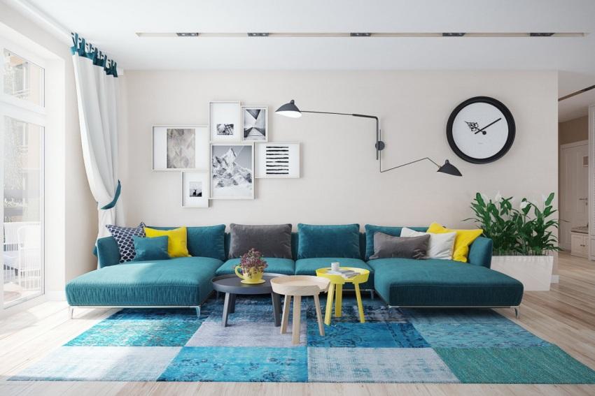 Чтобы сделать квартиру 60 кв.м более функциональной, ее лучше перепланировать в квартиру-студию