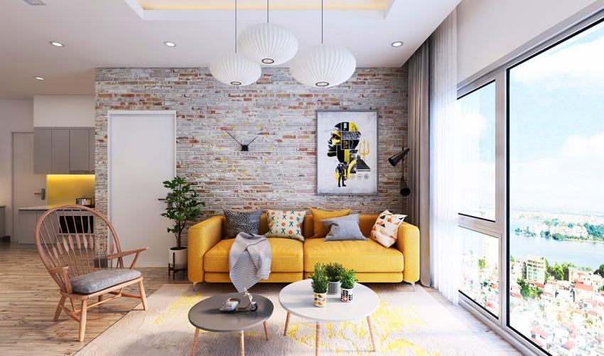 Самым лучшим решением для двухкомнатной квартиры может стать цветовое оформление в пастельных тонах с использованием преимущественно встроенной мебели