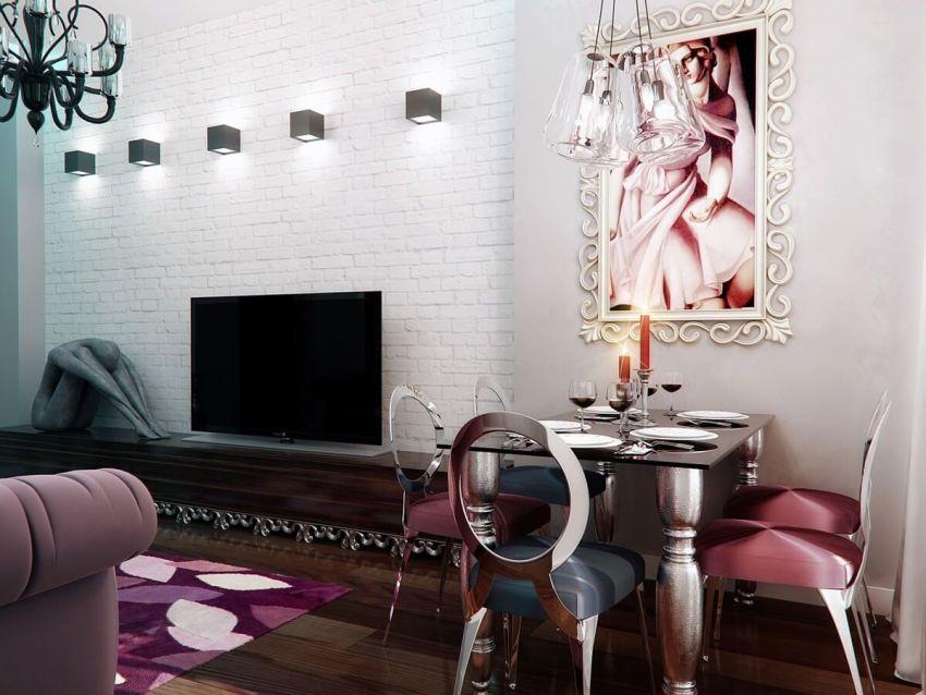 Дорогие и редкие природные материалы обязательны в использовании при оформлении пространства в стиле Арт-деко