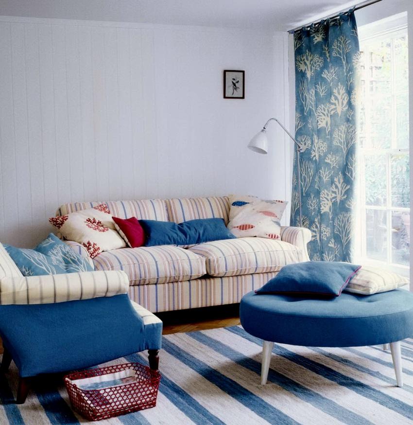 Самым лучшим решением для двухкомнатной квартиры может стать цветовое оформление отделки в светлые тона