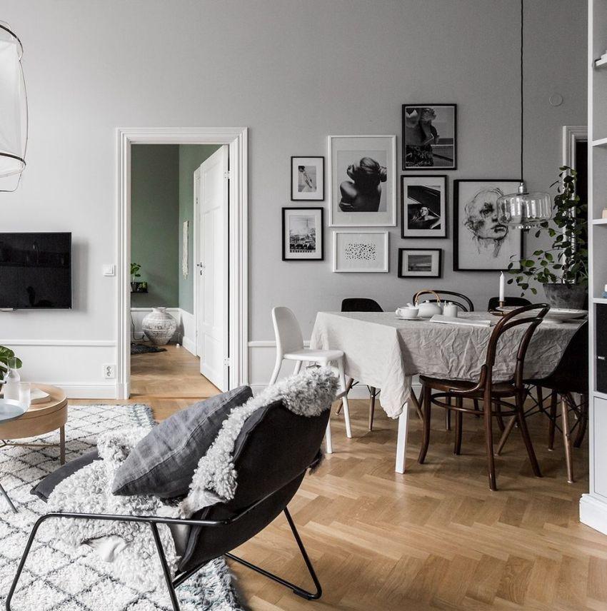 Стандартная планировка двухкомнатной квартиры часто далека от требований и норм, которые предъявляются к современному дизайну