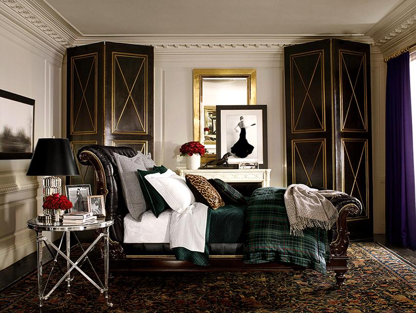 Для английского стиля характерно использование массивной мебели из дерева