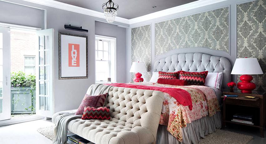 Картинки по запросу Основательный подход к интерьеру спальни с диваном
