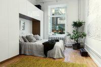 В минималистичном интерьере используются только самые необходимые элементы мебели, подобранные в одной цветовой гамме