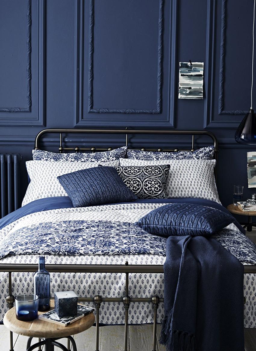 Материалы для спальни лучше приобретать натуральные, экологически чистые