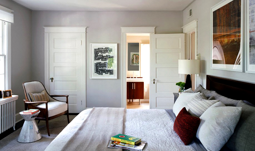 Двери из шпона бывают натуральные, ребросклеенные и реконструированные