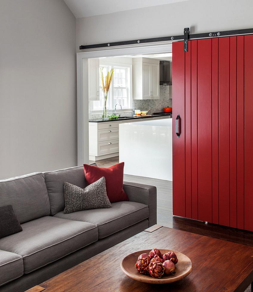 Двери из экошпона могут быть стандартными или изготовлены на заказ по размерам клиента