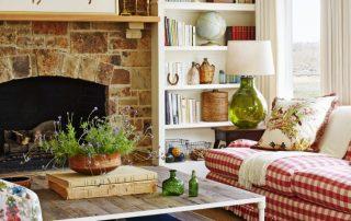 Гостиная в стиле прованс: как создать красивый деревенский интерьер