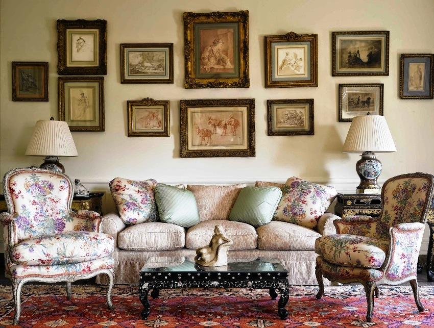 Мебель в прованском стиле соединяет в себе две грани: элегантность и функциональность