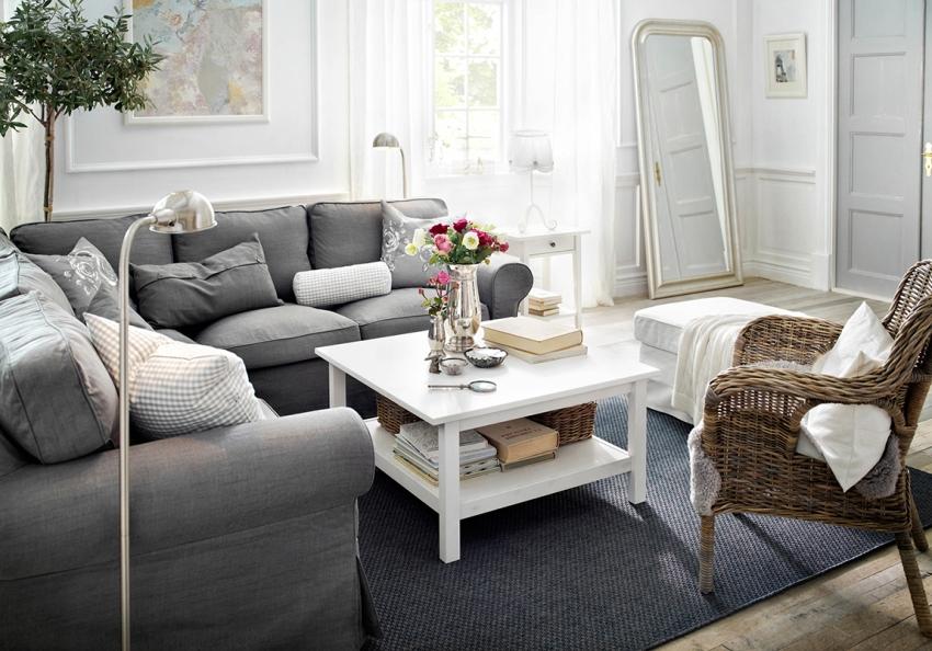 Если описать гостиную прованс в двух словах, то это будет «изысканная простота»