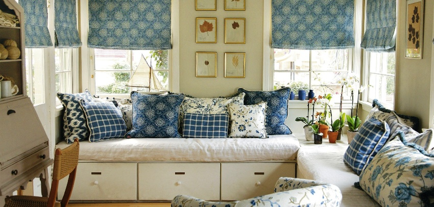Французский стиль прованс в современном интерьере характеризуется обилием света и теплыми, естественными оттенками