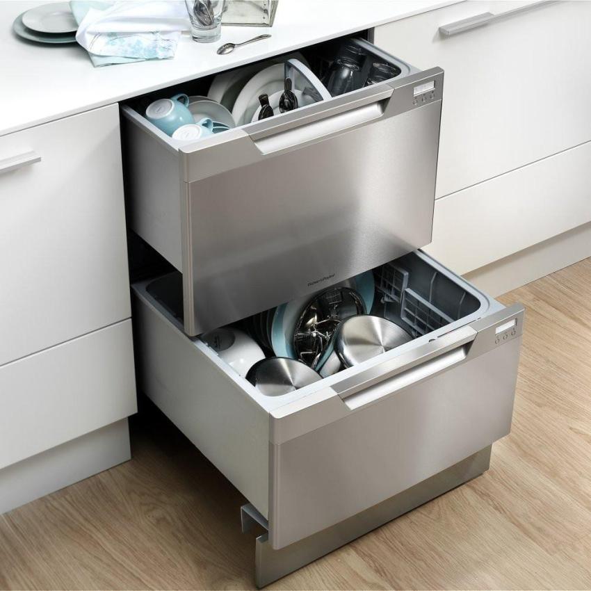 После завершения очередного цикла посудомоечная машина подает тот или иной сигнал