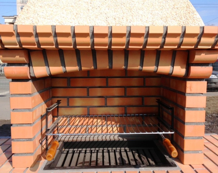 Used to create a barbecue brick must meet certain requirements