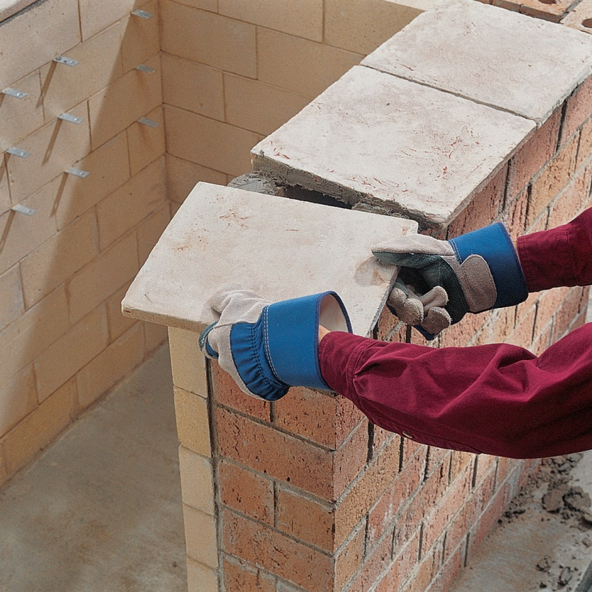 Brick can be laid only after the foundation is completely hardened