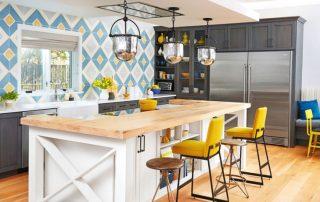 Отделка стен на кухне: варианты оформления, рекомендации по выбору материалов